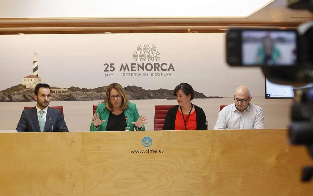 Rubén Diego Carrera presenta el plan estratégico de desarrollo energético de Menorca